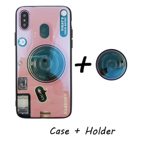 Kickstand Phone Case For iPhone Pink Plastic iPhone 6 - product photo 1