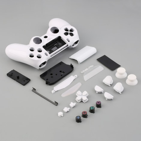 Gamepad Controller Housing Shell W/Buttons Kit for PS4  Remote Control