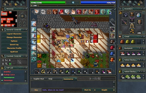 Tibia PACC Premium Time Cipsoft GLOBAL 30 Days Code - screenshot - 11