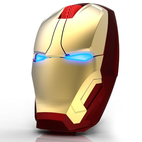 Iron Man Mouse Wireless Gold