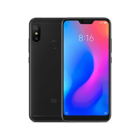 Xiaomi Redmi Note 6 Pro Black Android Internal & Removable 64GB Smartphone