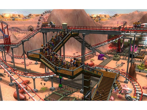 RollerCoaster Tycoon 3: Platinum Steam Key GLOBAL - gameplay - 4