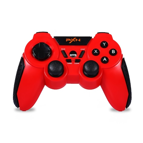 PXN - 8663 Bluetooth Gaming Controller Gamepad for Android Smartphone PC TV Turbo Function