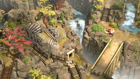 Shadow Tactics: Blades of the Shogun Steam Key GLOBAL - gameplay - 4