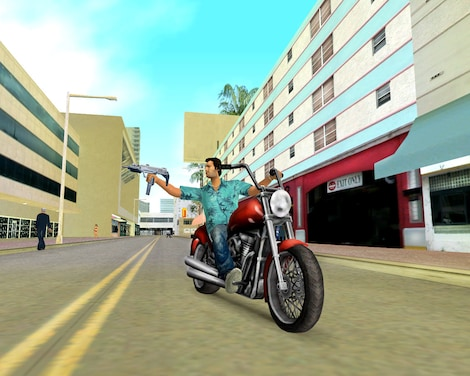 Grand Theft Auto: Vice City Steam Key GLOBAL - gameplay - 3