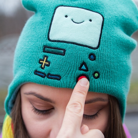 BMO Ushanka Cap - Adventure Time