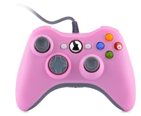 New USB Game Pad Controller For Microsoft Xbox 360 Console / PC Windows XBOX 360 Red - product photo 3