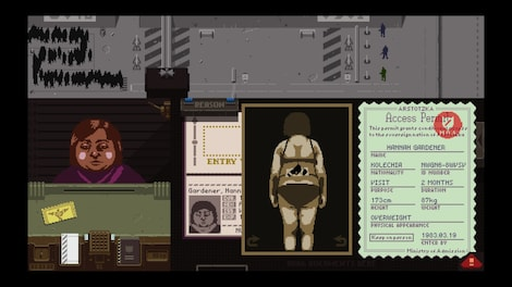 Papers, Please Steam Key GLOBAL - gameplay - 31