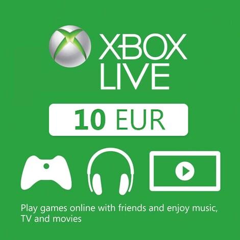 XBOX Live 10 EUR (Xbox One) - Xbox Live Key - GLOBAL