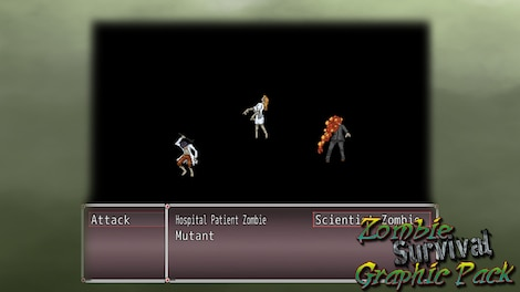 RPG Maker: Zombie Survival Graphic Pack Key Steam GLOBAL