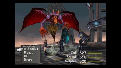 Final Fantasy VIII Steam Key GLOBAL - gameplay - 4