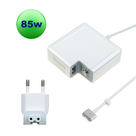 High Quality CE 85W T-style MS2 Power Adapter Charger for Apple Macbook PRO (Retina) 15-inch A1398 EU plug