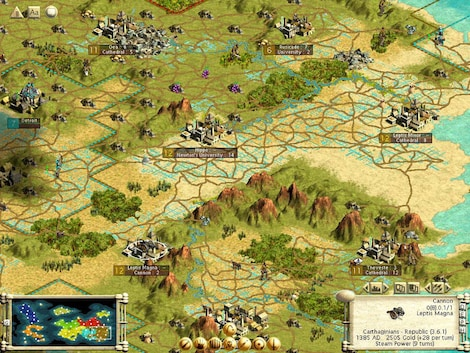 Sid Meier's Civilization III Complete Steam Key GLOBAL - gameplay - 3