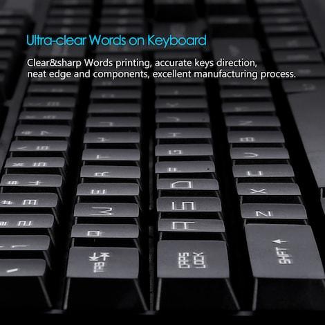 FANTECH K10 Backlight Gaming Professional Keyboard - product photo 1