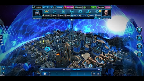 Astro Lords: Oort Cloud - MOBA: Two Stations 25 Key GLOBAL - screenshot - 5