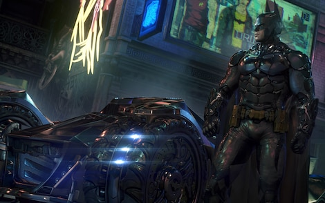 Batman: Arkham Knight Steam Key RU/CIS - gameplay - 3
