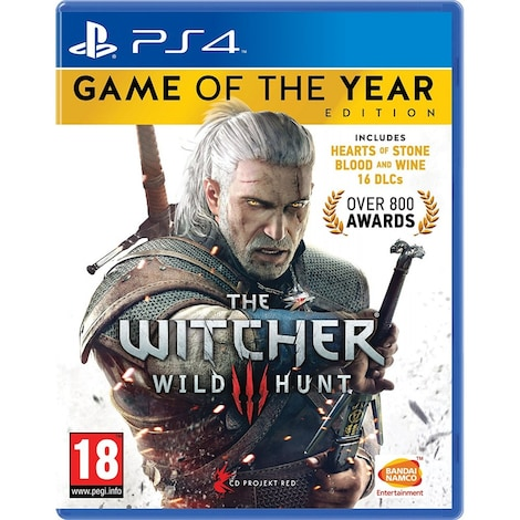 The Witcher 3: Wild Hunt Game of the Year Edition PS4 (EU PEGI) (deutsch)  [uncut]