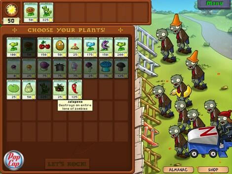Plants vs. Zombies GOTY Edition Steam Key GLOBAL - gameplay - 8