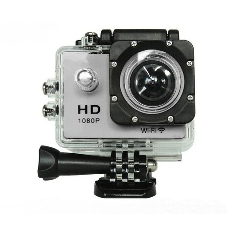 Waterproof Sports camera  - WIFI action 1080P HD DV  Blue - product photo 9