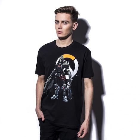 OVERWATCH: Reaper Logo Men's T-Shirt L Black