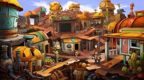 Deponia Trilogy Steam Key GLOBAL - gameplay - 34