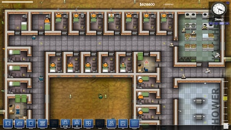 Prison Architect Standard Steam Key GLOBAL - gameplay - 5