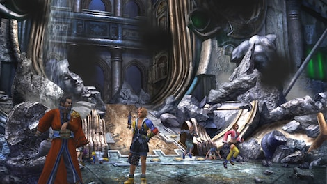 FINAL FANTASY X/X-2 HD Remaster Steam Key GLOBAL - gameplay - 5