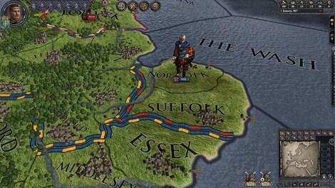 Crusader Kings II Steam Key GLOBAL - gameplay - 16