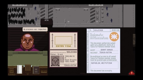 Papers, Please Steam Key GLOBAL - gameplay - 4
