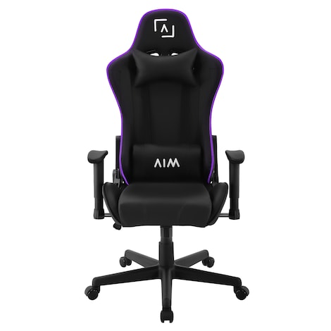 AIM - Gaming chair with RGB lighting 5 effects