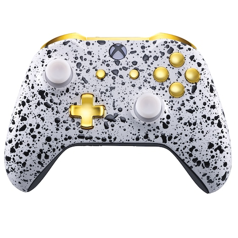 Xbox One Controller - 3D White / Gold