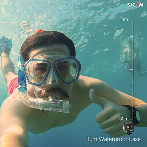 SJCAM SJ4000 WIFI Action Camera FHD1080P waterproof Underwater Camera 12MP Sports Camcorder  Red - product photo 5