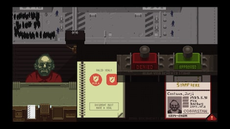 Papers, Please Steam Key GLOBAL - gameplay - 18