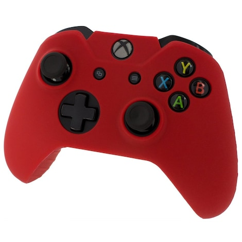 [REYTID] Xbox ONE Controller Skin Silicone Protective Rubber Cover Gel Grip Case - Red Red XBOX ONE