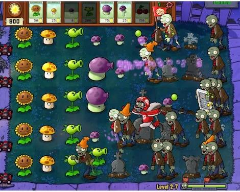 Plants vs. Zombies GOTY Edition Steam Key GLOBAL - gameplay - 5