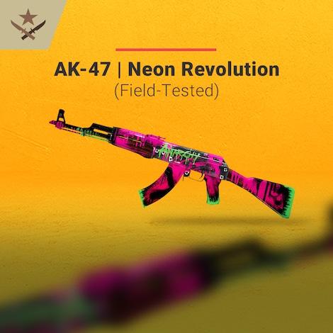 ak 47 neon revolution field tested key global g2a com