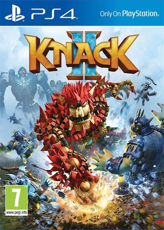 PS4 KNACK 2 (EU) Yellow Green Plastic