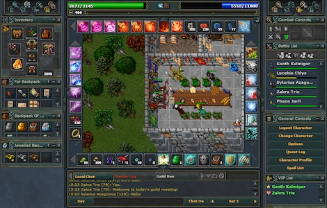 Tibia PACC Premium Time Cipsoft GLOBAL 30 Days Code - screenshot - 10