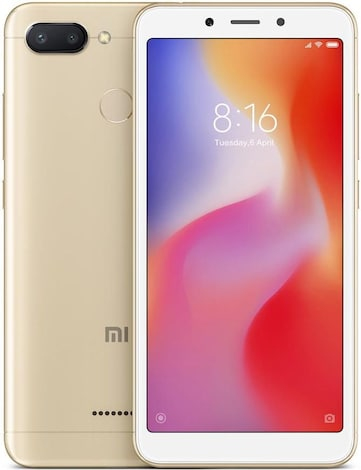 Xiaomi Redmi6 Gold, 3/32GB, DS, 4G  MZB6363EU