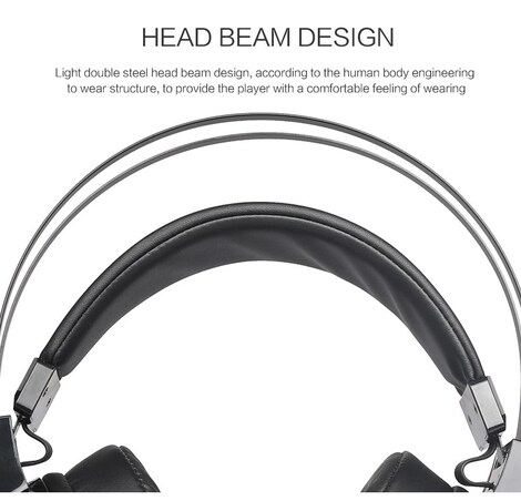 Wired Gaming Headset Deep Bass Black 1ft. - product photo 8