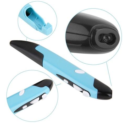 Universal 2.4GHz USB Wireless Mouse Optical Pen Mouse Adjustable, 500 / 1000DPI, for Laptops Desktops Computer