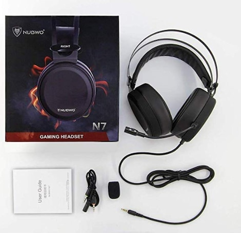 NUBWO Gaming headsets - Wired PC / XBOX/ PS4 Gaming Headphones with Noise Canceling Mic - product photo 1