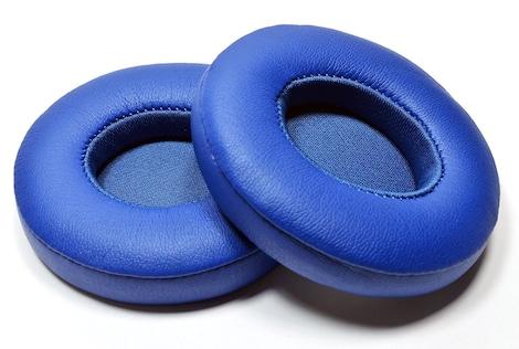 [REYTID] Beats by Dr. Dre Solo2 & Solo 2 Wireless Ear Cushion Kit - Blue - Headphone Ear Pads Blue