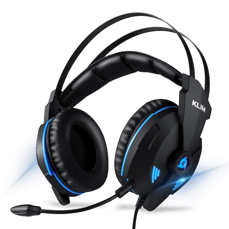 KLIM IMPACT - USB Gamer Headset - 7.1 Surround Sound + Noise Isolating  + Strong Bass - for PC PS4