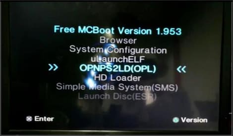 Free McBoot FMCB 1.953 for Sony Playstation2 PS2 64MB Memory Card Cards OPL MC Boot - product photo 1