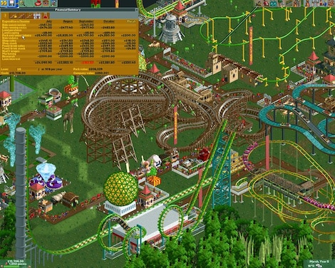 RollerCoaster Tycoon 2: Triple Thrill Pack Steam Key GLOBAL - gameplay - 2