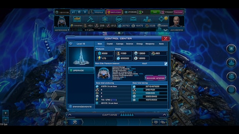 Astro Lords: Oort Cloud - MOBA: Two Stations 25 Key GLOBAL - screenshot - 8