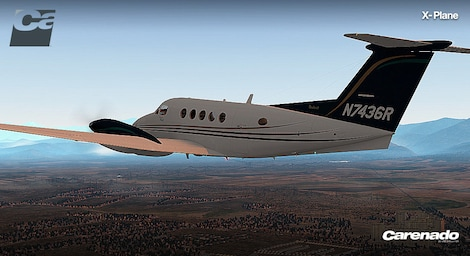 X-Plane 10 AddOn - Carenado - B200 King Air Key Steam RU/CIS