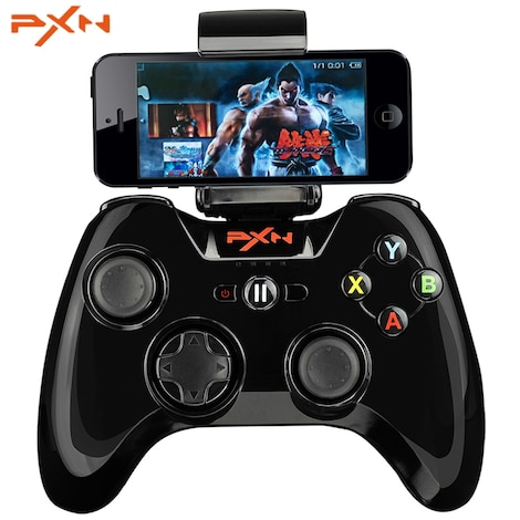 PXN - 6603 MFi Certified Wireless Bluetooth Game Controller Joystick Vibration Handle Gamepad