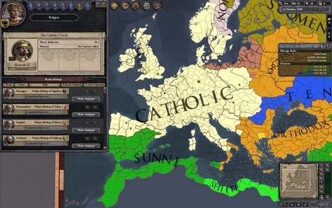 Crusader Kings II Steam Key GLOBAL - gameplay - 4